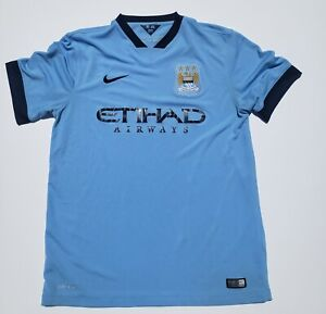 Manchester City Nike Authentic Supporter Jersey 2014/15 size L