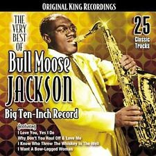 The Very Best of Bull Moose Jackson: Big Ten-Inch Record (2006, Collectables)