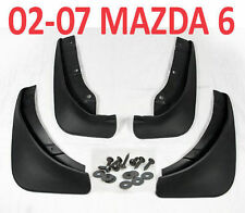 FIT FOR MAZDA 6 i SEDAN 2002-2007 MUD FLAP FLAPS SPLASH GUARDs MUDGUARDS 2008