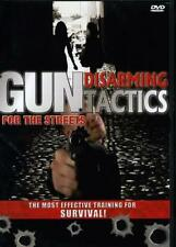 GUN DISARMING TACTICS FOR THE STREETS MARTIAL ARTS DVD SELF DEFENSE INSTRUCTION