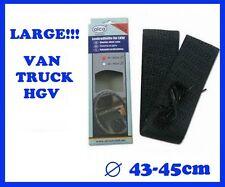 XL STEERING WHEEL COVER TRUCK VAN 43-45cm  16.5''-17.5'' LARGE SIZE