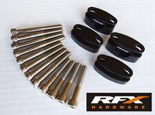 RFX Manillar Riser for 22.2MM Negro (7/8 Bares)