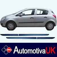 Vauxhall Corsa D 5D Rubbing Strips   Door Protectors   Side Protection Mouldings