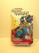 Transformers Prime Decepticon Rumble w/ DVD Robots in Disguise Fast Free Ship