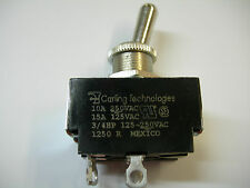 CARLING TECHNOLOGIES TOGGLE SWITCH 125 - 250 vac 15/10 amp 3/4 HP BRAND NEW!