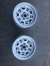"Pair Of 8"" Factory Pantera DeTomaso Campagnolo Wheels"