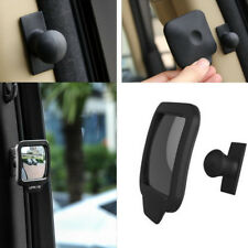 1x Adjustable Blind Spot Mirror Car Magnetic Swivel Convex Lens Quare Rear View
