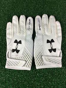 Team Issued Baltimore Ravens Under Armour NFL Team Spotlight LG Football Gloves