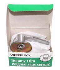 Weiser Lock Galiano Brushed Nickel Lever Non-Locking Dummy Handle 9LA120-010 NEW