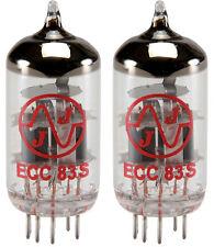 JJ/Tesla ECC83S 12AX7 ECC83 Preamp Tubes, Set of 2