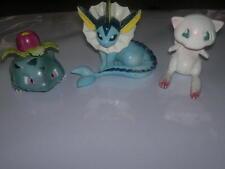 3 Pokemon Vintage Tomy figuras, Vaporeon, Ivysaur Mew _ Todo Estampado Tomy,