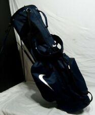 Nike Sport Lite Dual Strap Golf Stand Bag Blue/black
