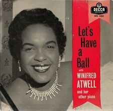 """Winifred Atwell Let's Have A Ball Tri-centre UK 45 7"""" EP"""