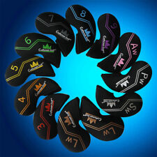 12pcs Craftsman Golf OEMS Iron Covers Headcovers For Taylormade Titleist Ping US