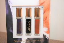 Elizabeth and James Nirvana 3 Perfume Set Amethyst, Black, Bourbon 0.24 oz each