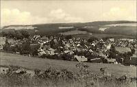 Schnett Thüringen DDR s/w Ansichtskarte 1968 Gesamansicht Panorama ungelaufen