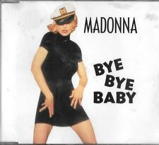 Madonna BYE BYE BABY Australian RARE CD SINGLE VGC