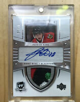 2009 Patrick Kane The Cup #3/10 Crosby Rookie Tribute patch 4 Color Mint