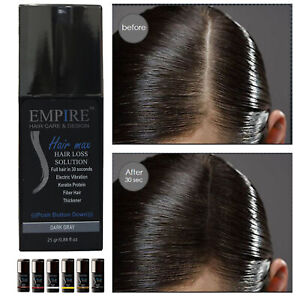 Empire Women Hair Fiber Filler Thickener Quick Hair-Loss Solution Fast Building