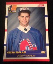 1990 SCORE CANADIAN ROOKIE #435 OWEN NOLAN