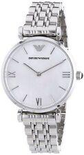 Women's Adult Silver Strap ARMANI Wristwatches