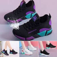 Femme Sport Baskets Respirant Course Extérieur Jogging Chaussures de Marche