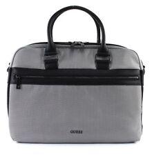 GUESS Global Function Workbag Umhängetasche Laptoptasche Tasche Grey Grau Weiß