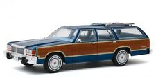 1979 Ford LTD Country Squire Station Wagon  Midnight Blue*** Greenlight 1:18 NEU