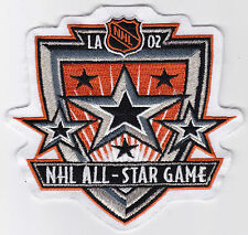 """2002 ALL STAR GAME AT LOS ANGELES NHL HOCKEY 4 3/8"""" SOUVENIR PATCH"""