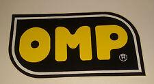 Adesivo Sticker OMP  cm 14,5 x 8 circa  Perfetto