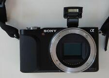 Sony Alpha NEX-3N 16.1MP Digital Camera - Black - Body Only - Fully Working