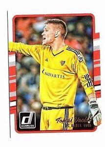 Tomas Vaclik 2016-17 Panini Donruss ,FC Basel 1893, Card # 77