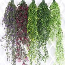 Artificial Fake Flower Vine Hanging Garland Plant Home Garden Wedding Decoration