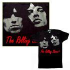Rolling Stones Metallic Foil Print 100 Cotton Rib Baby Doll T-shirt by Glamhead