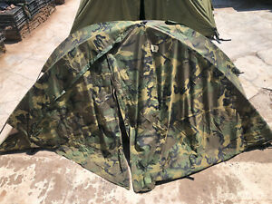 Eureka Combat Tent -TCOP with extra pole + stakes and Mission Log SUPER RUGGED