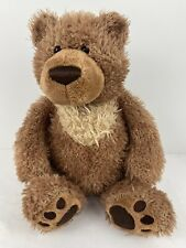 "GUND 16"" Plush SLUMBERS BEAR Teddy 320709 Tan Brown Soft Lg Stuffed Animal Toy"
