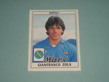FIGURINE STICKERS ROOKIE ALBUM CALCIATORI PANINI 1989/90 NAPOLI ZOLA NEW -MAX