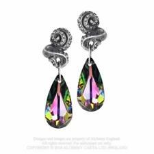 Genuine Alchemy Gothic Earrings – Kraken Droppers Crystal E409