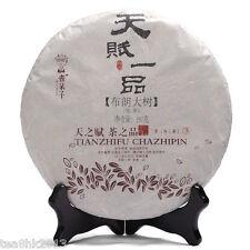 357g cake ShuDaiZi raw puer tea puerh tea green tea TianFu BuLangShan Year 2013