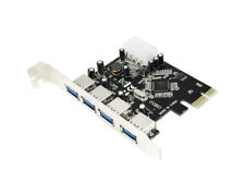 LogiLink PCI Express 4 Port Schnittstellenkarte USB 3.0