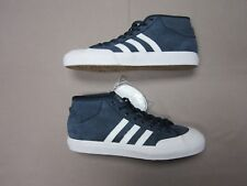 ADIDAS MATCHCOURT MID MENS BLUE SKATEBOARD SHOES SNEAKERS SIZE 11 NEW BY3203