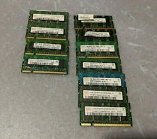 LOT 1 GB 512 MB PC2 5300 6400 DDR2 200 pin Laptop Sodimm Memory Ram Notebook Set