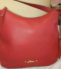 Guess Keti Hobo Shoulder Bag Red Bnwt Pu Leather Cross Body