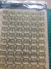 Alphabet Clear stamps