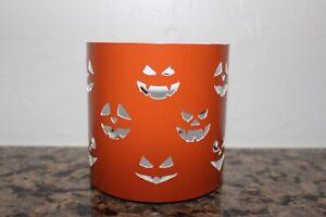 Yankee Candle All Hallows' Eve Jar Candle Holder~Halloween~Jack-O-Lanters~
