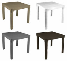 Childrens Garden Table Plastic Kids for Indoor & Outdoor Use Easy Assemble Play