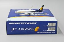 Jet Airways B737-8MAX Reg: VT-JXA JC Wings Scale 1:400 Diecast Model XX4057