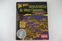 1997 The Best Strategy and War Games Secrets PC Game Guide Book with CD