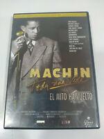 Machin Toda Una Vida el Mito Ha Vuelto - Region 2 DVD Español