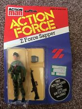 Action Force Z Force Sapper MOC MOSC Carded Palitoy 1st Release